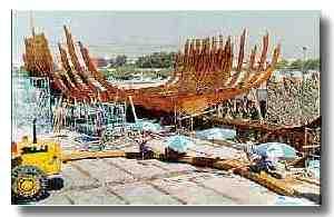 Tall ship replicas