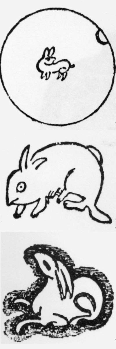 Chinese Porcelain Glossary Hare Moon Hare Rabbit