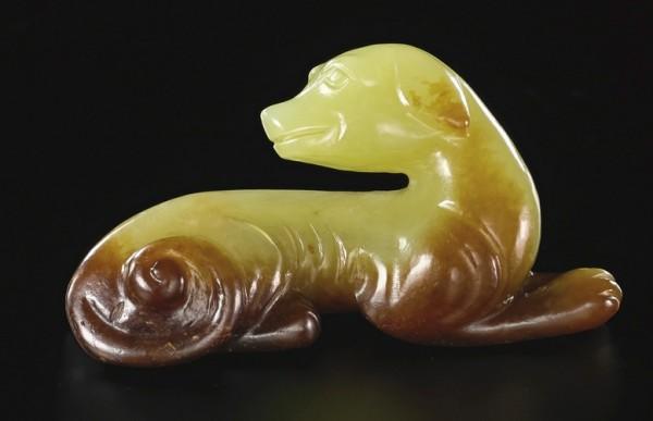 Chinese Porcelain Glossary Jade Dog Figure