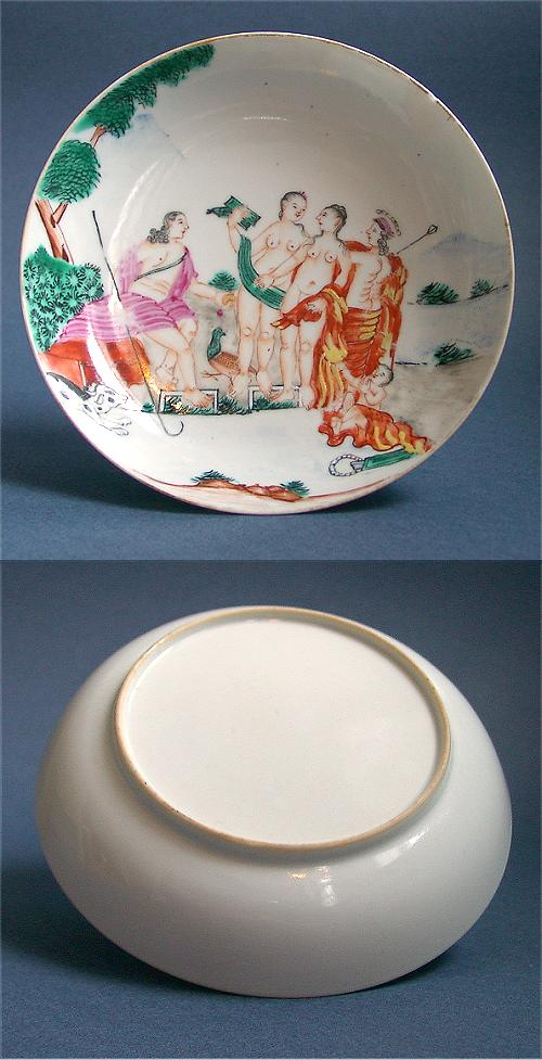 Chinese Porcelain Glossary: Judgement of Paris (decoration)