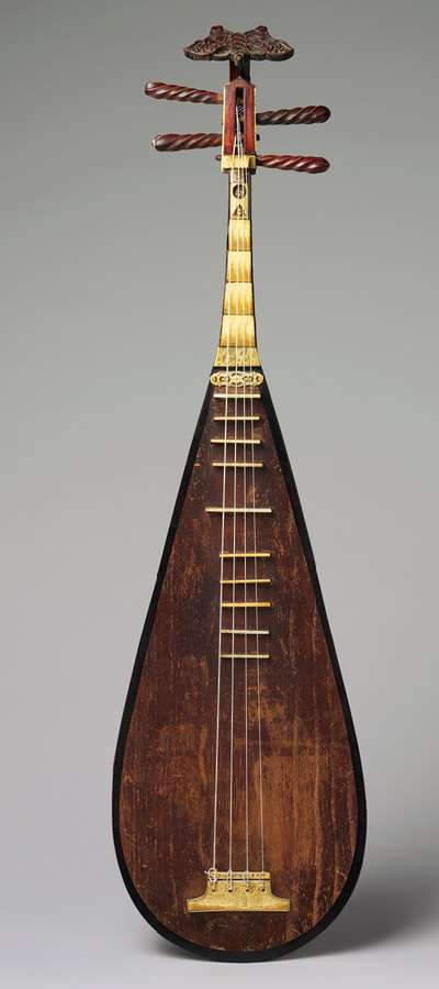 chinese porcelain glossary pipa instrument