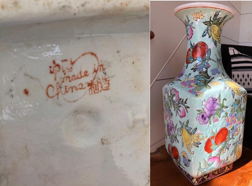 Marks On Chinese Porcelain Porcelain Marks On Macau Macau Style