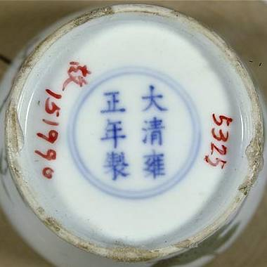 Marks on Chinese Porcelain - The Qing Dynasty (1644-1912