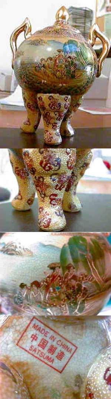 Qa Chinese Porcelain Satsuma