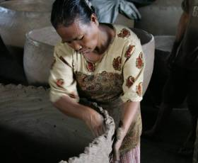 Visit to old Terracotta Pottery Kiln in Bali